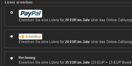 Jetzt Auch Zahlung Via Paypal Möglich Prometheus Blog Das