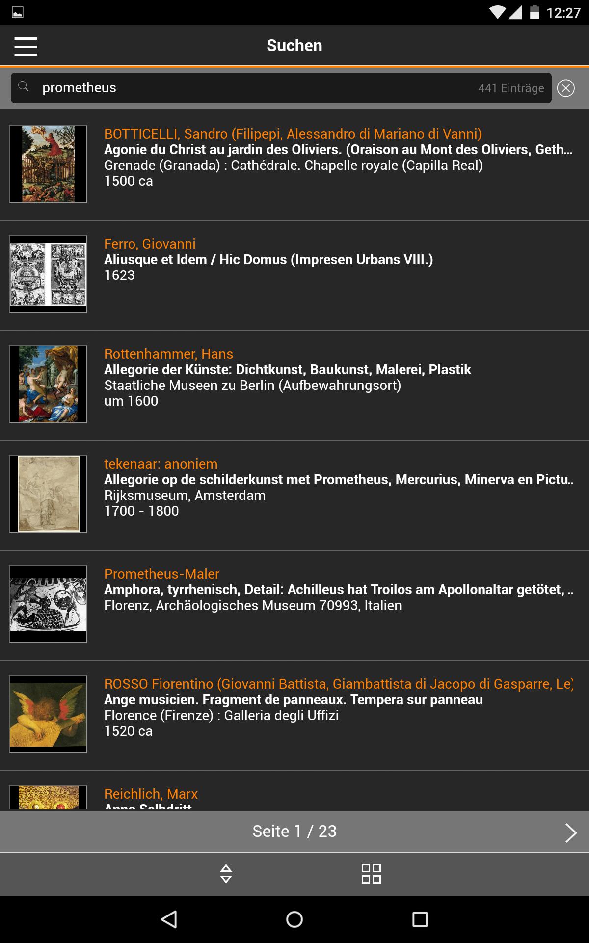 App Das Prometheus Bildarchiv Hochwertige Bilder Zu Kunst Kultur